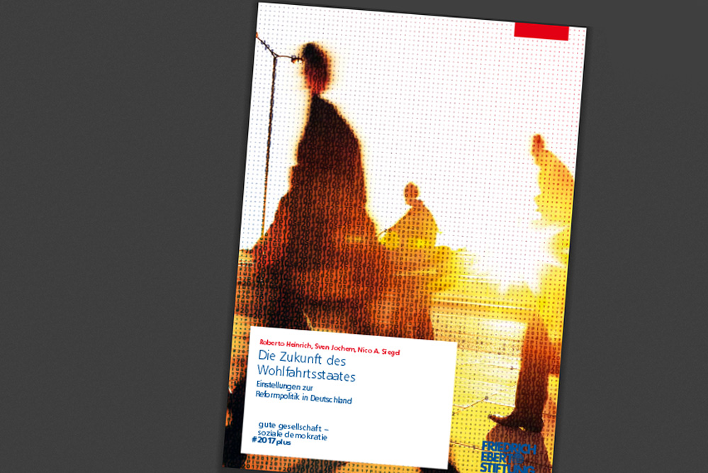 Die Zukunft des Wohlfahrtstaates. Cover: FES