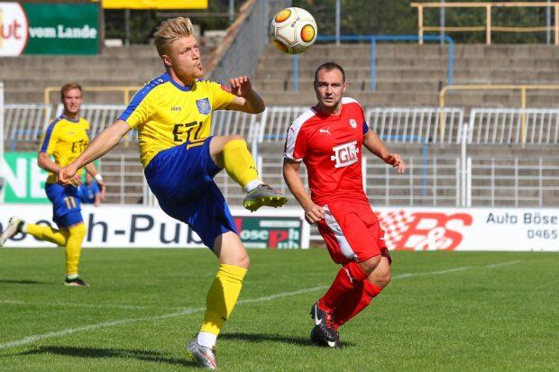 Ramon Hofmann beweist Ball- und Körperbeherrschung. Foto: Jan Kaefer