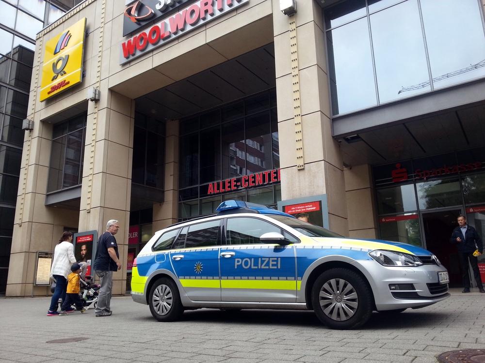 Die Polizei in Leipzig sucht ihre verschwundene Waffe. Foto: Jan Käfer