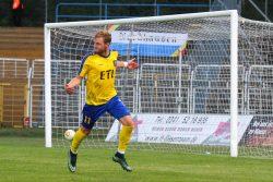 Brügmann erzielte wie schon gegen Nordhausen das zweite Tor für Lok. Archivfoto: Jan Kaefer