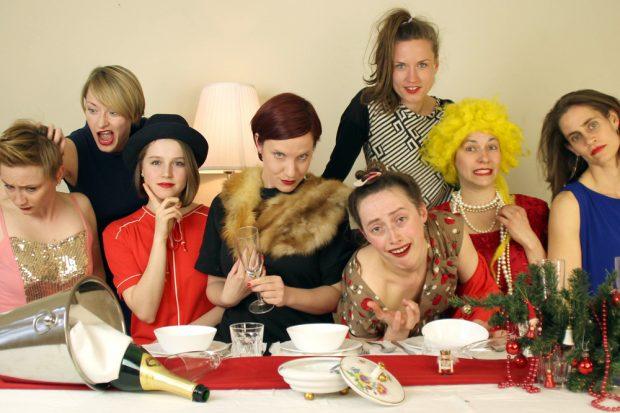 Acht Frauen und ein Mord. Foto: PR