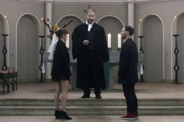 Attac-Filmclip zur Zwangsheirat. Screenshot: L-IZ
