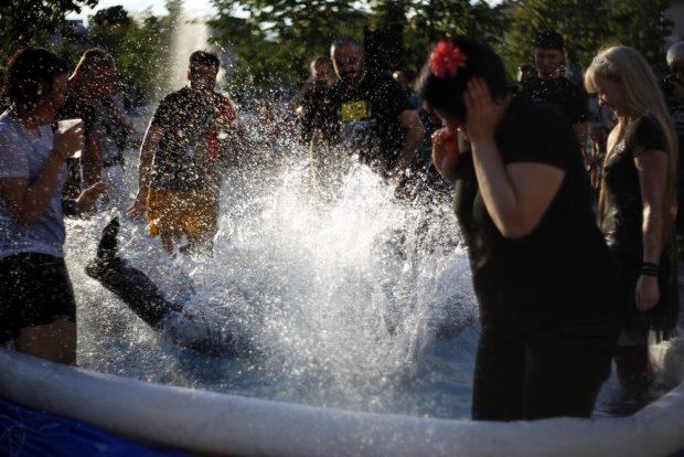 Dieses Mal geht Jürgen Kasek baden. Foto: Alexander Böhm