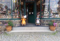 Ein bekanntes Seiffener Pärchen. Ja, sie leben noch...Foto: M. Hofmann