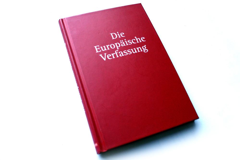 Die Europäische Verfassung. Foto: Ralf Julke