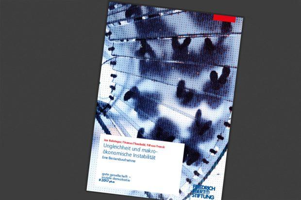 """Die FES-Studie """"Ungleichheit und makroökonomische Instabilität"""". Cover: FES"""