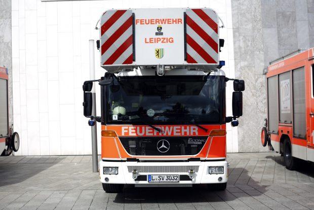 Feuerwehr Leipzig. Foto: Alexander Böhm
