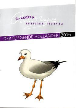 """Wappentier Möwe auf dem Programmheft! Der """"Fliegende Holländer"""" darf nach sieben Jahren wieder an Land. Und auf die Bühne, denn der Zyklus der Wagner-Werke beginnt von vorn, in neuer Inszenierung."""