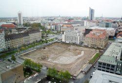 Künftiger Bauplatz des SAB-Sitzes an der Gerberstraße. Foto: Ralf Julke