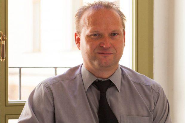 Prof. Hendrik Richter. Foto: Alexander Klich/HTWK Leipzig
