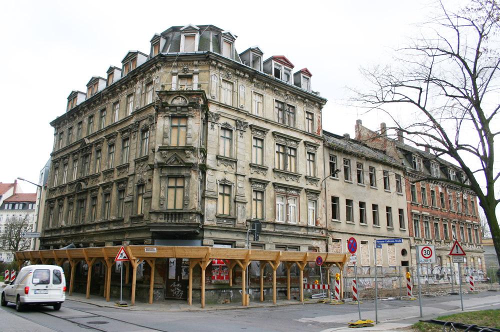 Hermann-Liebmann-Straße 43 im Jahr 2007. Foto: Ralf Julke