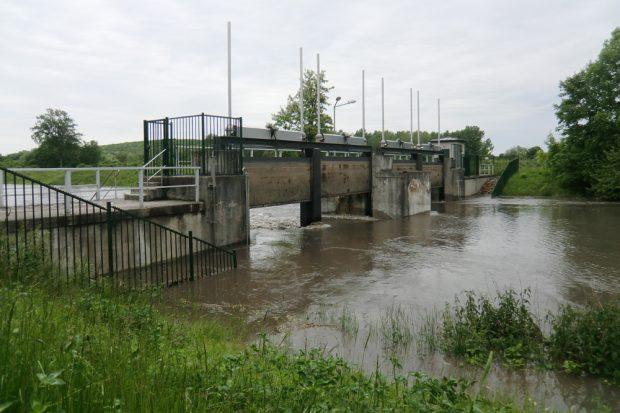 Hochwasser 2013 an der Nahle. Foto: Marko Hofmann