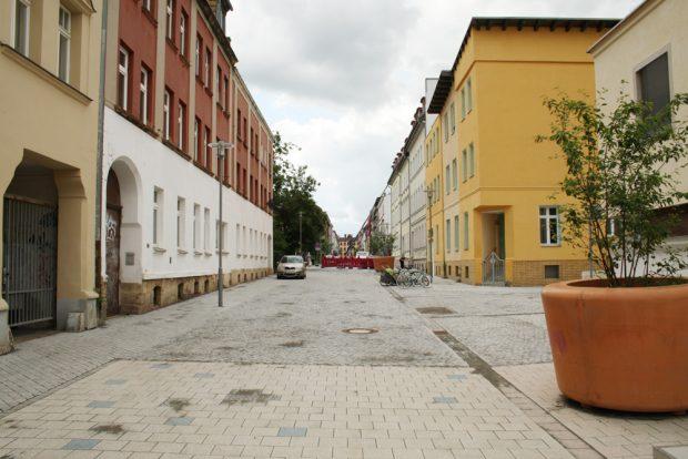 2013 eingeweiht: neu gestaltete Josephstraße. Foto: Ralf Julke