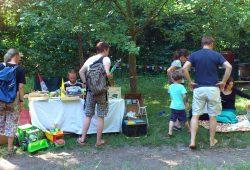 Kinderflohmarkt im Stadtgarten Connewitz. Foto: Ökolöwe