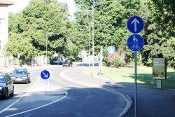 Emil-Fuchs-Straße an der Rosentalgasse. Foto: Ralf Julke