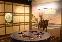 Ausstellung im Zeitgeschichtlichen Forum: Europa ohne Mythos? Foto: Ralf Julke