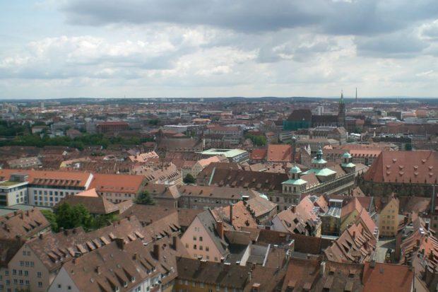 Von der Kaiserburg sieht man gut über Nürnbergs Innenstadt. Foto: M. Hofmann