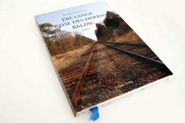 Heinrich Peuckmann: Die lange Reise des Herrn Balzac. Foto: Ralf Julke
