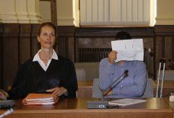 Rechtsanwältin Annette Clement-Sternberger und Christoph F. Foto: Alexander Böhm