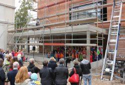 Richtfest für den Neubau der Grundschule forum thomanum. Foto: forum thomanum Leipzig