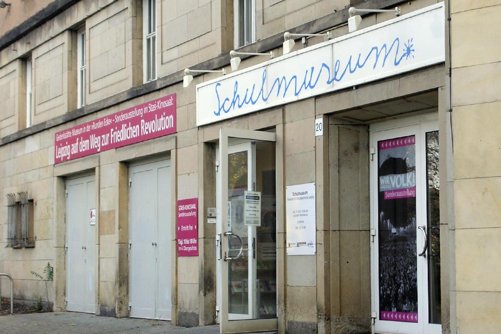 Das Schulmuseum am Goerdelerring 20. Foto: L-IZ.de