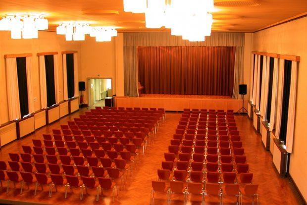 Der alte Stasi-Kinosaal im heutigen Zustand. Foto: Bürgerkomitee Leipzig