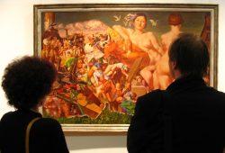 Tübke-Ausstellung 2004 im Zeitgeschichtlichen Forum. Foto: Ralf Julke