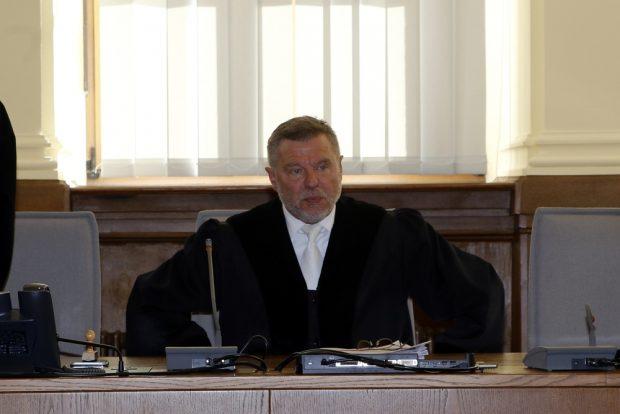 Vorsitzender Richter Norbert Göbel. Foto: Alexander Böhm