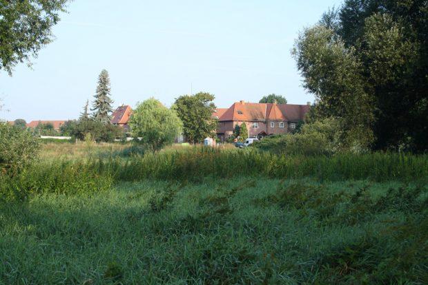 Blick zur Weidenhofsiedlung. Foto: Ralf Julke