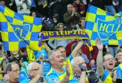 Auch in Spanien musste der HCL nicht auf seine Fans verzichten. Foto: Jan Kaefer (Archiv)