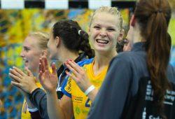 Shenia Minevskaja stand die Freude über den Sieg buchstäblich ins Gesicht geschrieben. Foto: Jan Kaefer
