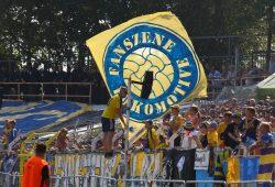 Der 1. FC Lok entzog der Fanszene Lokomotive bereits die Privilegien nach den Böllerwürfen. Foto: Jan Kaefer