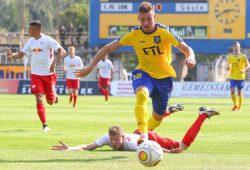 Nils Gottschick traf gegen den ZFC Meuselwitz zum zwischenzeitlichen 1:0. Foto: Jan Kaefer (Archiv)