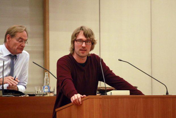 Adam Bednarsky (Linke). Foto: Alexander Böhm