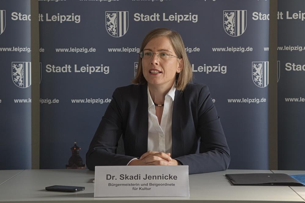 Kulturbürgermeisterin Skadi Jennicke. Foto: Alexander Böhm