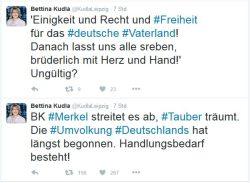 Mittlerweile gelöscht, der Tweet des Anstoßes. Screen: twitter.com/KudlaLeipzig