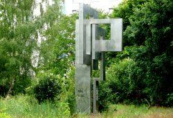 Der Grundstein des Stadtteils Grünau. Foto: Gernot Borriss