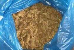 Insgesamt wurden 6,7 kg Marihuana sichergestellt. Foto: PD Leipzig