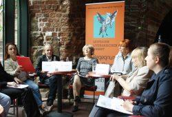 Vorstellung des Programms zum Literarischen Herbst in der Moritzbastei. Foto: Ralf Julke