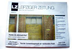 Ausgabe 35 der Leipziger Zeitung: Nichts ist alternativlos! Foto: L-IZ