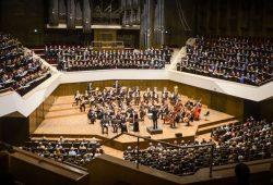 Panoramafoto des Mitsingkonzertes vom 12.10.2014 (Giuseppe Verdi - Requiem). Foto: Uwe Schöne