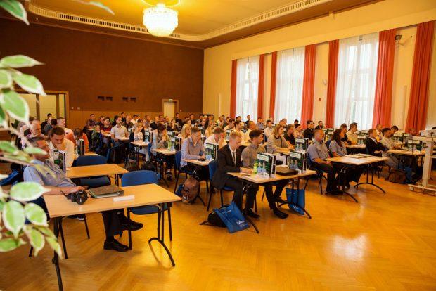 Begrüßung der Auszubildenden der Polizeifachschule Leipzig 2016. Foto: Präsidium der Bereitschaftspolizei
