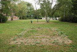 Der Rabensteinplatz in seinem jetzigen Zustand. Foto: Ralf Julke