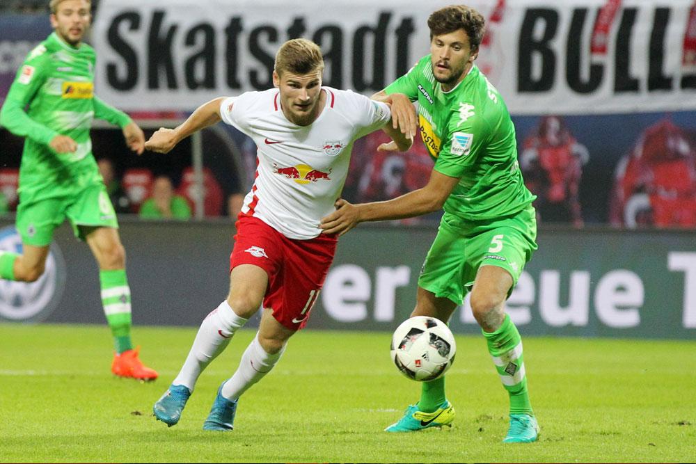 Timo Werner schoss RB in die Führung. Foto: GEPA Pictures