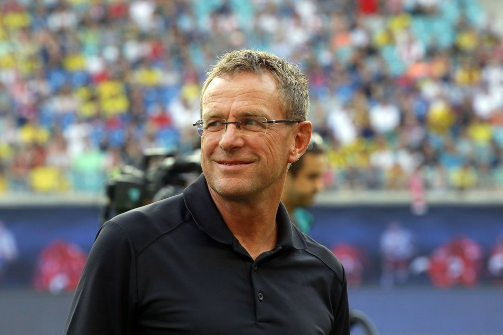 Sportdirektor Ralf Rangnick. Foto: Alexander Böhm