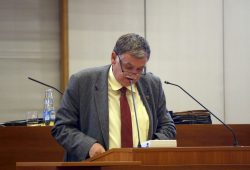 Siegfried Schlegel (Die Linke). Foto: Alexander Böhm
