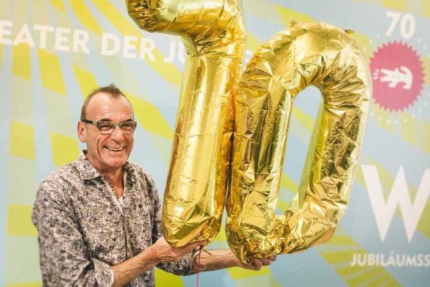 TdJW-Intendant Jürgen Zielinski freut sich auf die Jubiläumsspielzeit. Foto: Sebastian Schimmel.