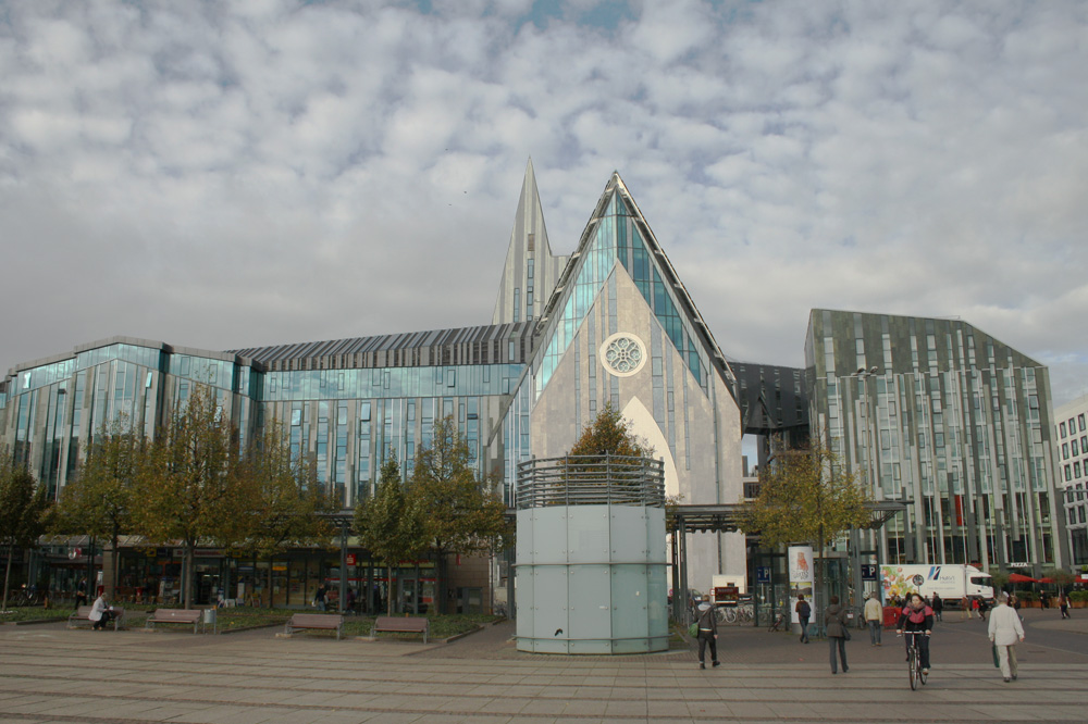 Die Uni Leipzig am Augustusplatz. Foto: Ralf Julke