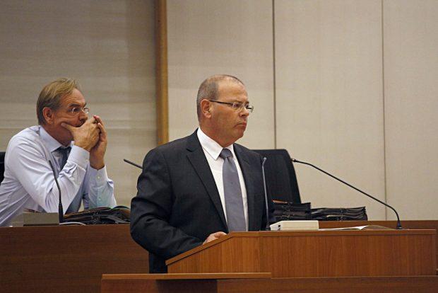 Wirtschaftsbürgermeister Uwe-Albrecht. Foto: Alexander Böhm