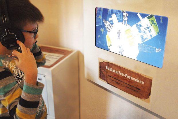 Die Trickfilme entstehen in der jährlichen Schüler-Sommerwerkstatt. Foto: UNIKATUM Kindermuseum